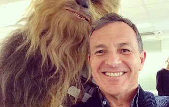 iger star wars day1 - Star Wars: The Force Awaken's Chewbacca has already been seen!