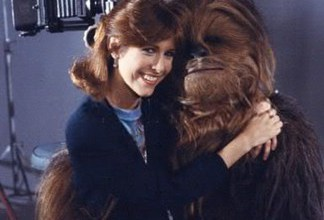 Photo of Star Wars: The Force Awakens' Han, Leia, and Chewbacca's Costume Descriptions!