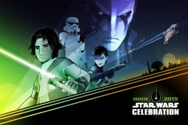 star wars celebration rebels poster 1024x682 - Star Wars Celebration Anaheim 2015: Poster Designs & Badge Artwork