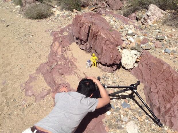 003 - Star Wars Epic Yarns - Desert Shoot - Tuscon (DROIDS shoot outtake) - © & TM Lucasfilm Ltd