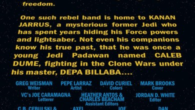 Photo of Five-Page Preview of Kanan: The Last Padawan
