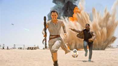 Rey Finn running - Star Wars News: July's Audio & Video from Around the Galaxy