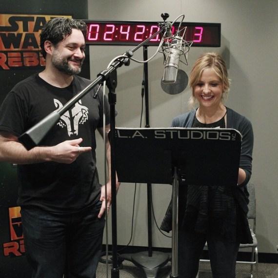 sarah michelle gellar - Sarah Michelle Gellar's Role in Star Wars Rebels Revealed