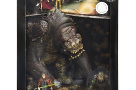 "Star Wars The Black Series Jabbas Rancor Pit in package - San Diego Comic-Con: Toys""R""Us Exclusive 3 3/4"" Rancor Set"