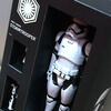 Photo of Biographic information on the First Order Stormtrooper from Star Wars: The Force Awakens.
