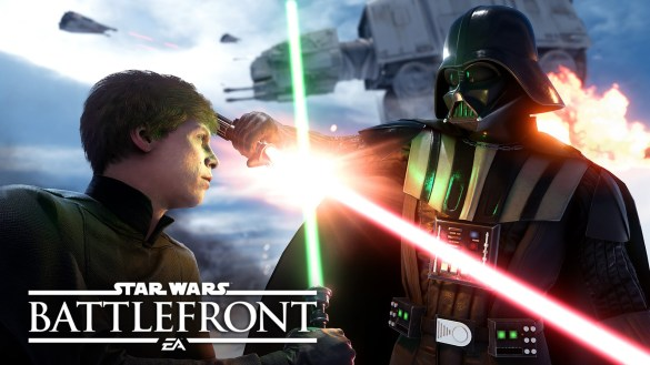 EA's Star Wars Battlefront Gameplay Trailer