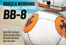 "M46 Cover LowRez 305x397 - BB-8 Featured in ""Make"" Magazine, Vol. 46"