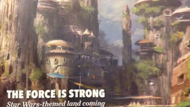 "Photo of Disney Cast Member Newsletter Features ""Star Wars Land!"""