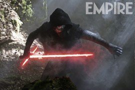 Empire Mag Kylo Ren - Empire releases new image of Kylo Ren with his lightsaber!