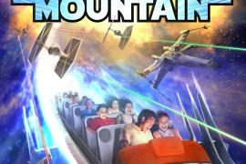 Hyperspace Mountain - Disney Park's Space Mountain to become Star Wars: Hyperspace Mountain! Poster pic and more!