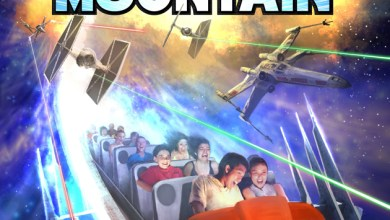 Disney Park's Space Mountain to become Star Wars: Hyperspace Mountain! Poster pic and more!