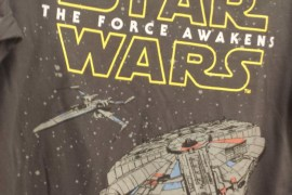 TFA SHIRT1 - Two Star Wars: The Force Awakens shirts found in Australia!
