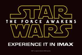 The Force Awakens IMAX Promo - Star Wars: The Force Awakens to take over all IMAX screens for one month?