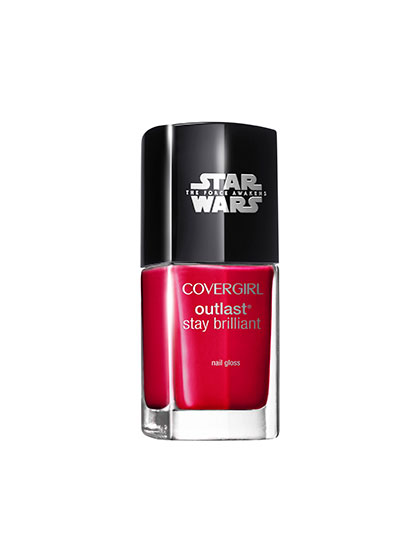 covergirl star wars nail polish red revenge