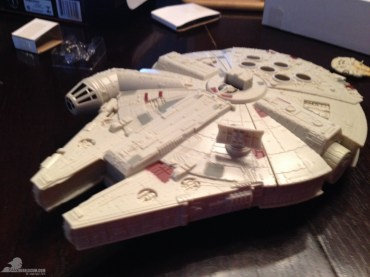 star wars the force awakens millennium falcon micromachines playset 080615 008