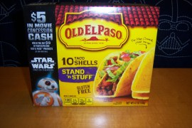 Old El Paso 1 - Old El Paso promotion gives $5 concession cash for our Star Wars: The Force Awakens screenings!