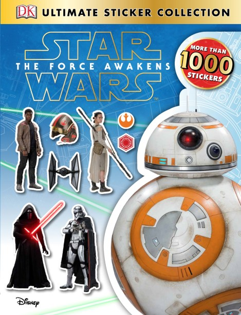A plethora of new Star Wars: The Force Awakens books coming December 18th!