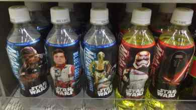 Photo of Mets Cola Star Wars: The Force Awakens bottles from Tokyo!