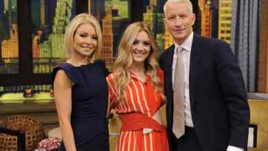 Photo of Billie Lourd on LIVE with Kelly and Michael!