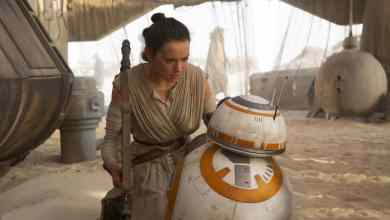 REY AND BB 8