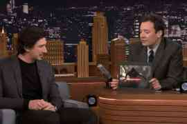 fallon - Adam Driver Talks About Kylo Ren From Star Wars: The Force Awakens With Jimmy Fallon!