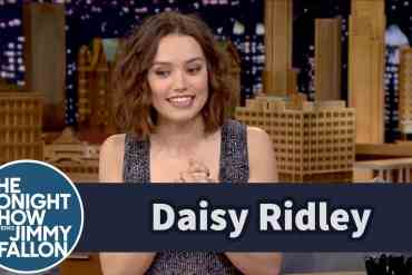 jimmy fallon interview with dais - Jimmy Fallon Interview With Daisy Ridley From Star Wars: The Force Awakens Released!