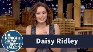Photo of Jimmy Fallon Interview With Daisy Ridley From Star Wars: The Force Awakens Released!