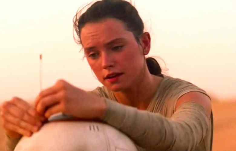 new footage of rey and bb 8 from