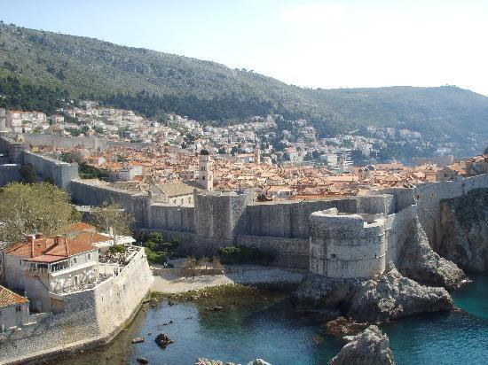old town viewed from