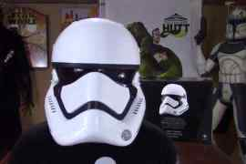 star wars the force awakens firs - Star Wars: The Force Awakens First Order Stormtrooper Anovos Helmet Review By The Collectors Hutt!