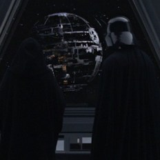 tarkin palpatine and vader in revenge of the sith