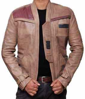 finn star wars leather jacket  94107 zoom 2