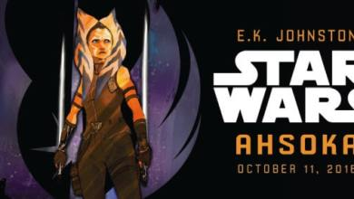 Photo of Ahsoka Tano Novel Announced For October 2016!