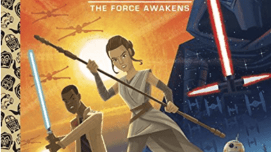 Photo of Star Wars: The Force Awakens Little Golden Book out April 12th