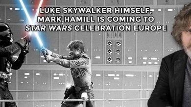 Photo of Mark Hamill Attending Star Wars Celebration London!