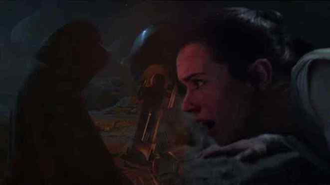 New dialogue discovered in Rey's Force vision from Star Wars: The Force Awakens!
