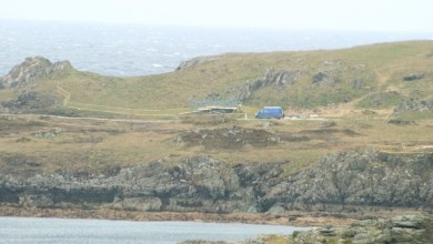Photo of Star Wars: Episode VIII begins setting up at Malin Head. Photos!
