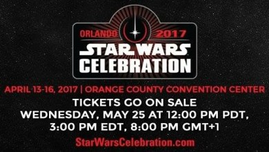 Photo of Star Wars Celebration Orlando To Take Place April 13-16th 2017!
