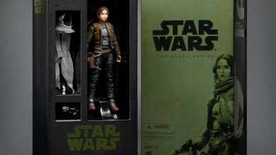 Photo of SDCC exclusive Jyn Erso Black Series from Rogue One: A Star Wars Story!