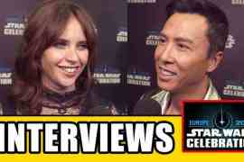 video rogue one a star wars stor - Video: Rogue One: A Star Wars Story cast interviews