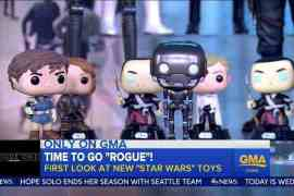 GMA 1 - Rogue One: A Star Wars Story Toys Unveiled on Good Morning America!