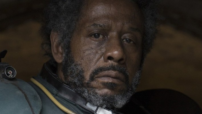 Rogue One: A Star Wars Story Saw Gerrera (Forest Whitaker) Ph: Giles Keyte ©Lucasfilm 2016 LTD.