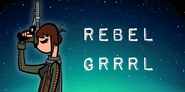 """Episode 50 MakingStarWars.net's """"Rebel Grrrl"""" - Trailer reaction!"""