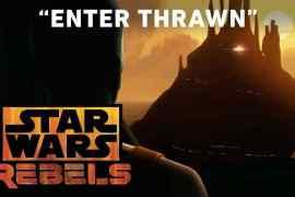 """star wars rebels season 3 enter - Star Wars Rebels season 3 """"Enter Thrawn"""" trailer!"""