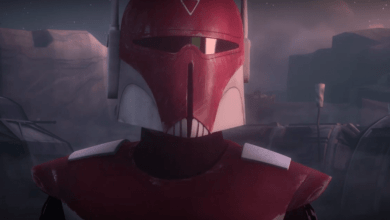 Photo of Star Wars Rebels clip features Sabine and Commander Saxon!