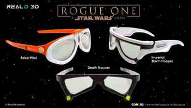 Photo of RealD reveals collectible 3D glasses for Rogue One: A Star Wars Story