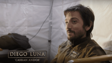 Photo of New Rogue One behind-the-scenes clip with Diego Luna