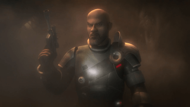Photo of Star Wars Rebels Saw Gerrera clip!
