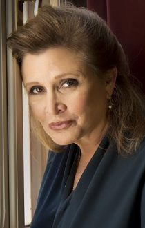 Carrie Fisher 2013 210x330 - Review: The Princess Diarist by Carrie Fisher. Review by Amanda Ward
