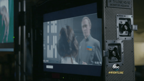 Star Wars: Rogue One test footage shows Leia and Tarkin on the Death Star together
